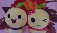 收到聚享游一对吉祥物小J&小Y,感谢聚享游